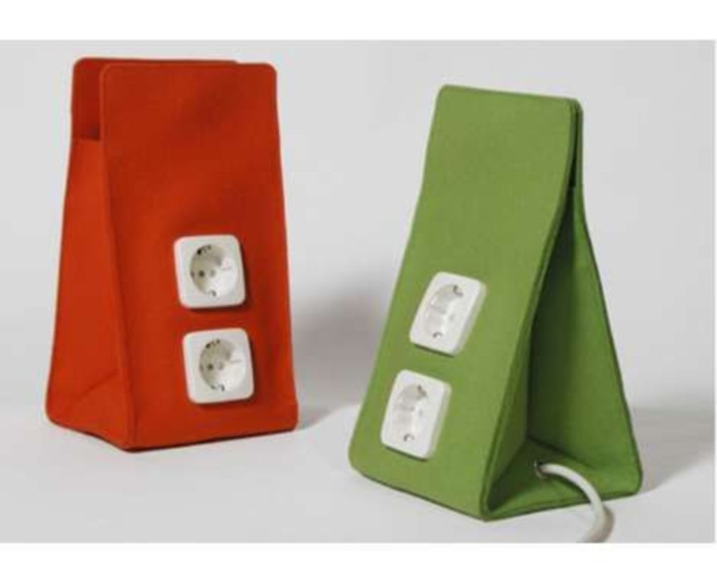 Trush in' electrical cable containers