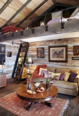 Creative log cabin themed bedroom for kids 02