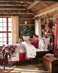 Creative log cabin themed bedroom for kids 08