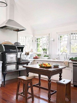 Diy ideas to add rustic farmhouse feel to your kitchen 10