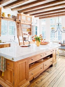 Diy ideas to add rustic farmhouse feel to your kitchen 11