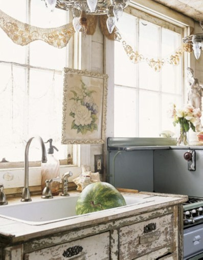 Diy ideas to add rustic farmhouse feel to your kitchen 23