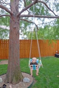 Diy outdoor swing ideas for your garden 10