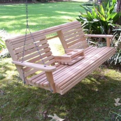Diy outdoor swing ideas for your garden 20