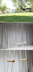 Diy outdoor swing ideas for your garden 23