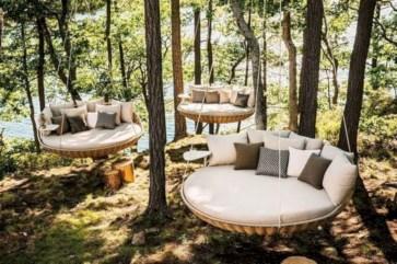 Diy outdoor swing ideas for your garden 24