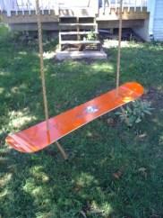 Diy outdoor swing ideas for your garden 26
