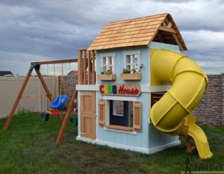 Diy outdoor swing ideas for your garden 30