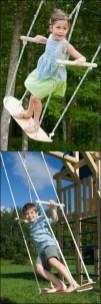 Diy outdoor swing ideas for your garden 37