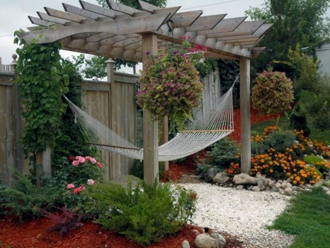 Diy outdoor swing ideas for your garden 41