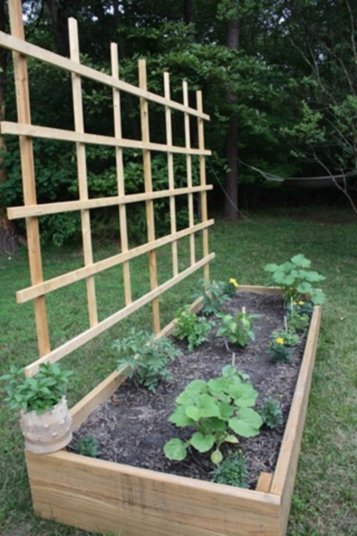 Easy to make diy raised garden beds ideas 01