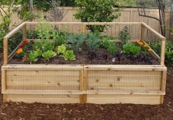 Easy to make diy raised garden beds ideas 04