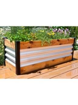 Easy to make diy raised garden beds ideas 06