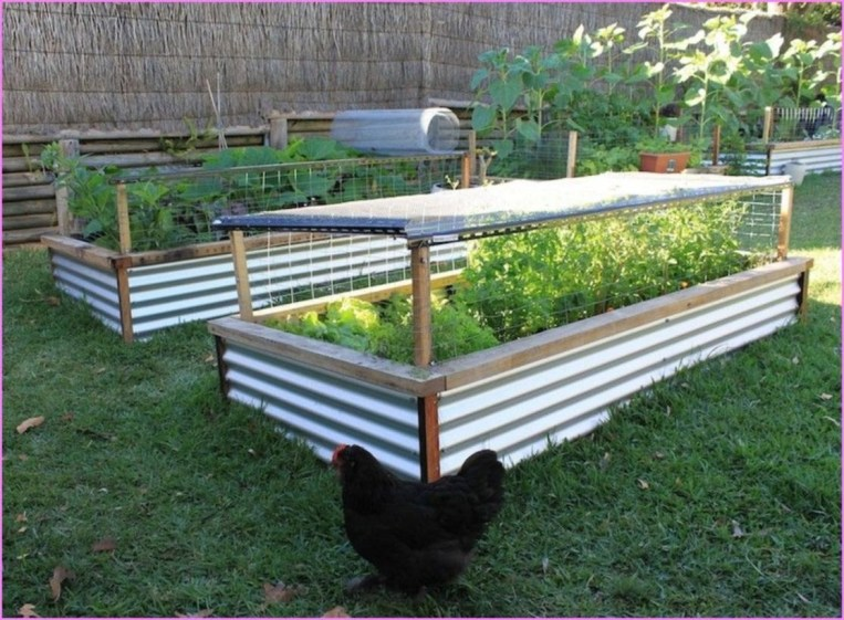 Easy to make diy raised garden beds ideas 08