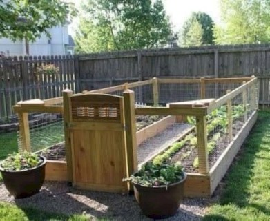 Easy to make diy raised garden beds ideas 23