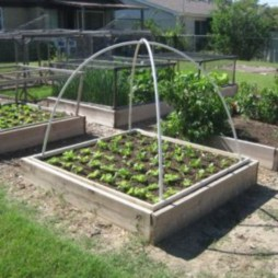 Easy to make diy raised garden beds ideas 35