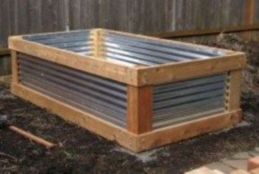 Easy to make diy raised garden beds ideas 36