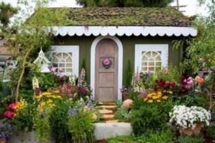 Fabulous backyard playhouse to delight your kids 21