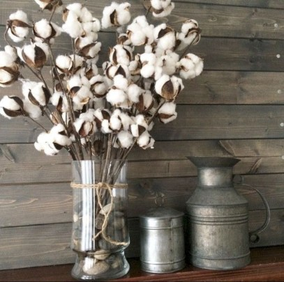 Incredible cotton decor farmhouse that you will love it 08