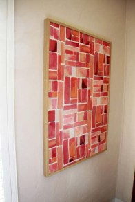 Simple diy wall art ideas for your home 31
