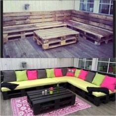 Simple and easy ideas from pallet recycling 28
