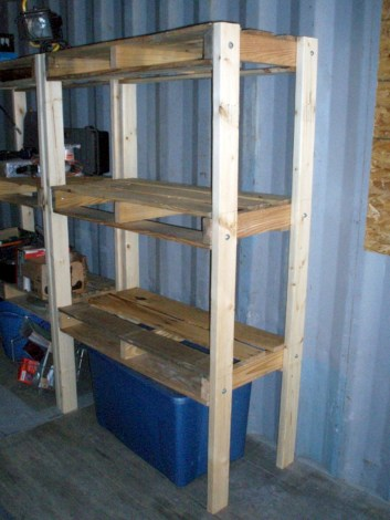 Simple and easy ideas from pallet recycling 30