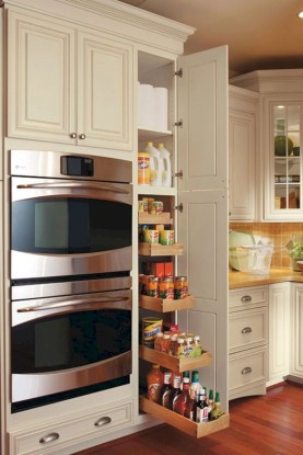 Smart kitchen cabinet organization ideas 07