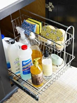 Smart kitchen cabinet organization ideas 26