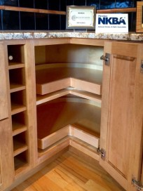 Smart kitchen cabinet organization ideas 31