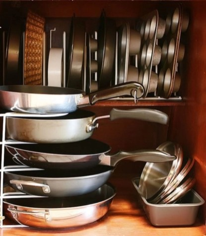 Smart kitchen cabinet organization ideas 42