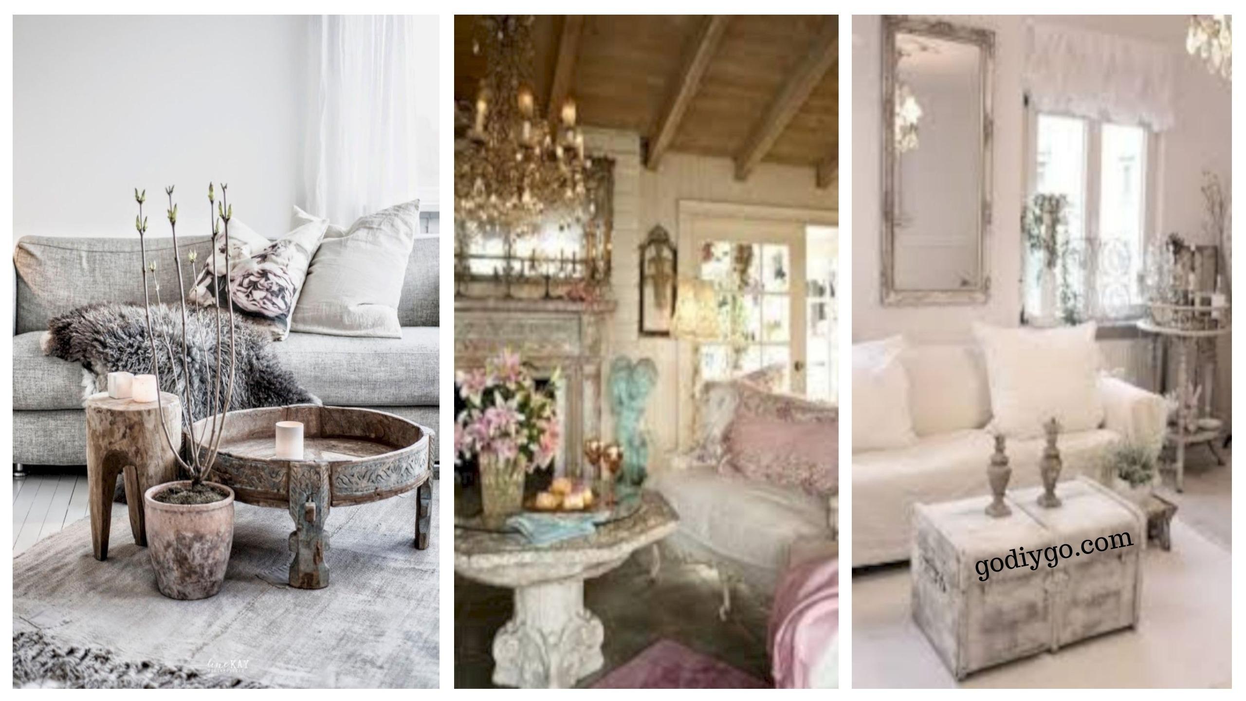 36 Boho Rustic Glam Living Room Design Ideas Godiygo Com