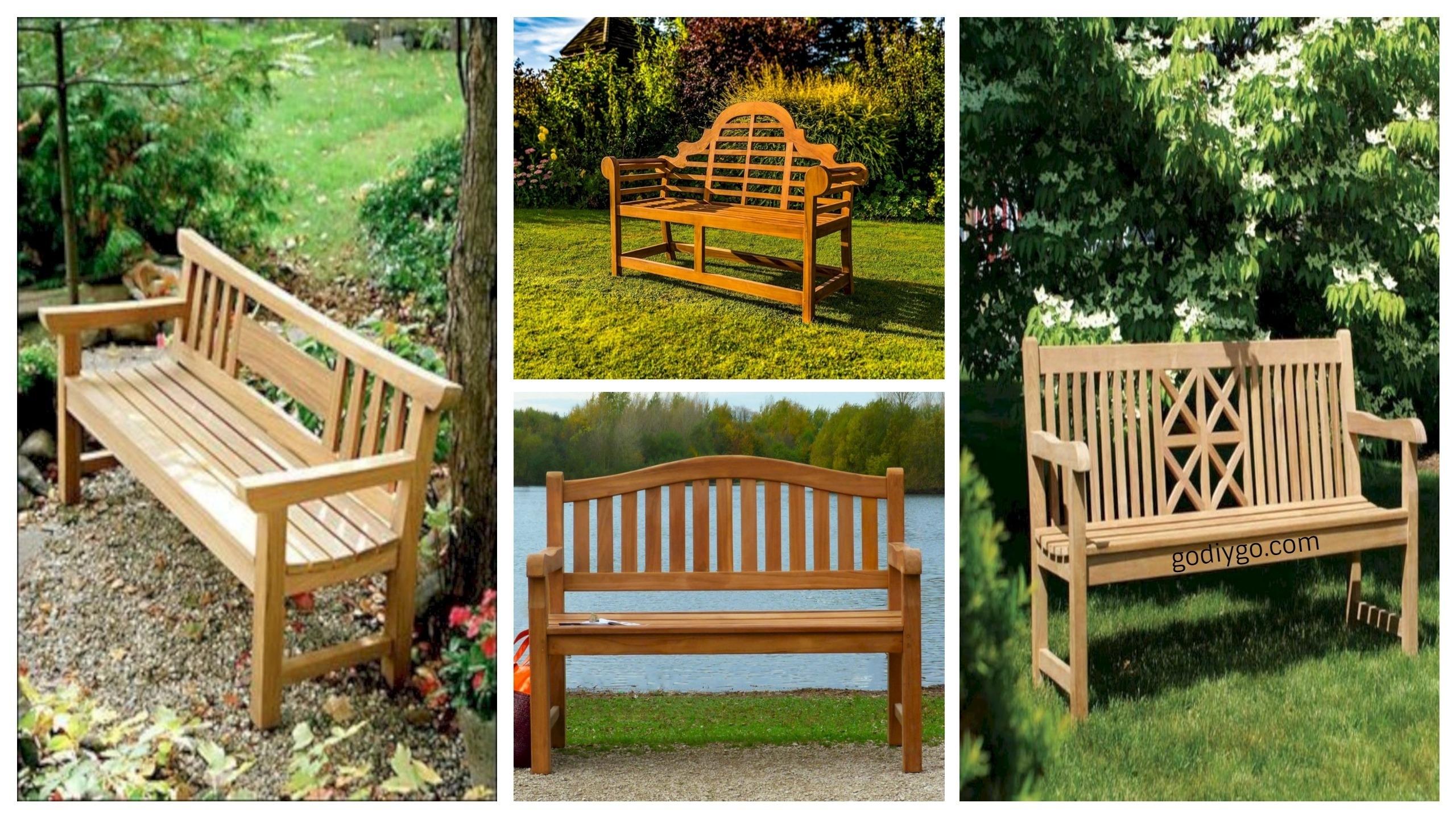 garden bench ideas. 41 Teak Garden Benches Ideas For Your Outdoor Bench F