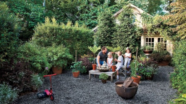 Beautiful courtyard garden design ideas 04