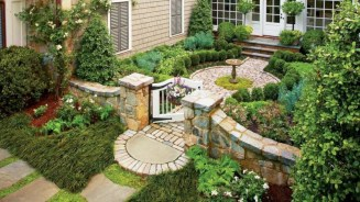 Beautiful courtyard garden design ideas 15