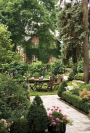 Beautiful courtyard garden design ideas 20