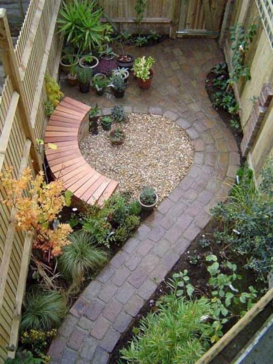 Beautiful courtyard garden design ideas 34