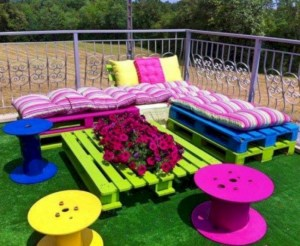Best diy projects with pallet for your garden 02
