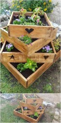 Best diy projects with pallet for your garden 10
