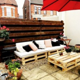 Best diy projects with pallet for your garden 12