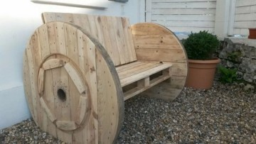 Best diy projects with pallet for your garden 29