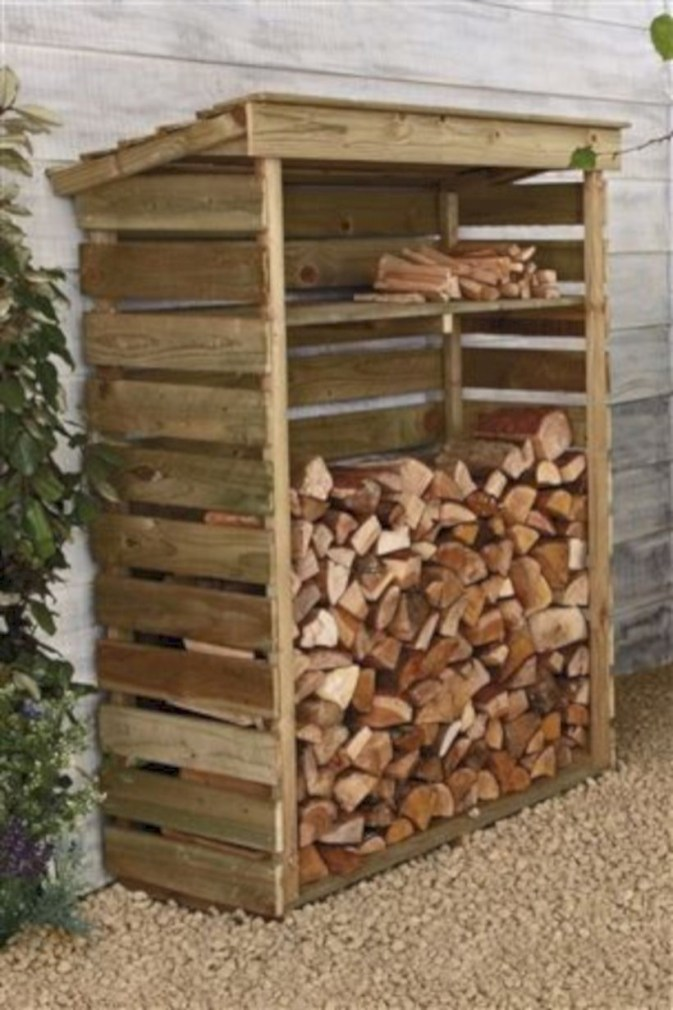 Best diy projects with pallet for your garden 37