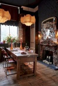 Boho rustic glam living room design ideas 07