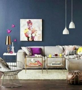 Boho rustic glam living room design ideas 31