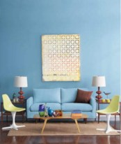 Bright ideas for diy decor with bright color 30