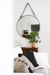 Clever ideas to makeover your mirror 40