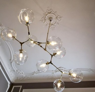 Crazy and cool diy chandeliers to beautify your space 24
