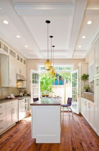 Gorgeous narrow kitchen with stunning details 09