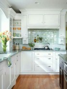 Gorgeous narrow kitchen with stunning details 18