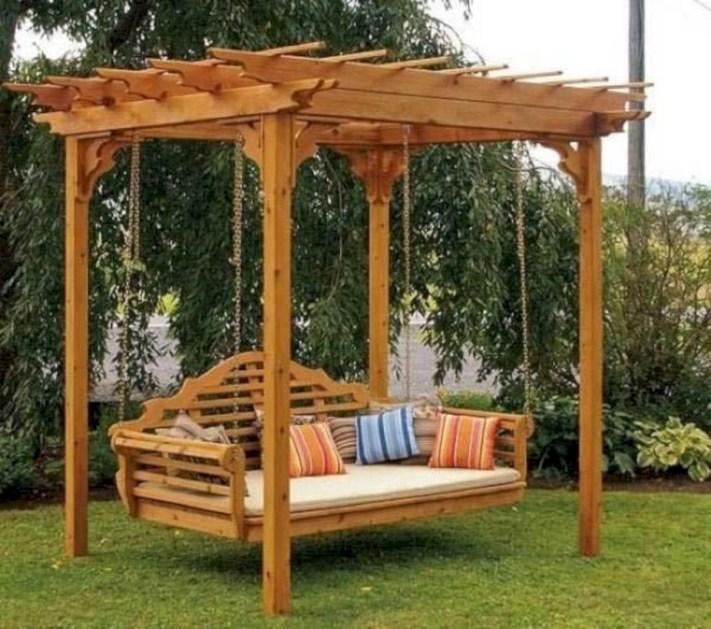Inspiring diy backyard pergola ideas to enhance the outdoor 33