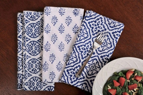 Most easiest diy napkins to adorn your dining table 07